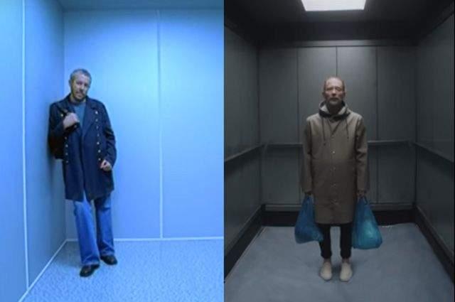 """Radiohead скопировал клип """"Машины времени"""". Андрей Макаревич подозревает, что популярный британский коллектив украл идею их старого видео на песню """"Место, где свет"""" и использовали ее в клипе Lift."""
