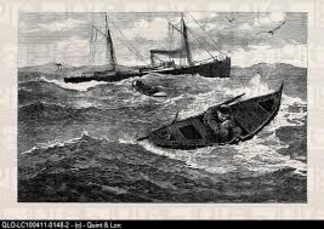 Парусное судно с 290 офицерами и курсантами на борту не дошло до порта назначения и не вернулось на родину.
