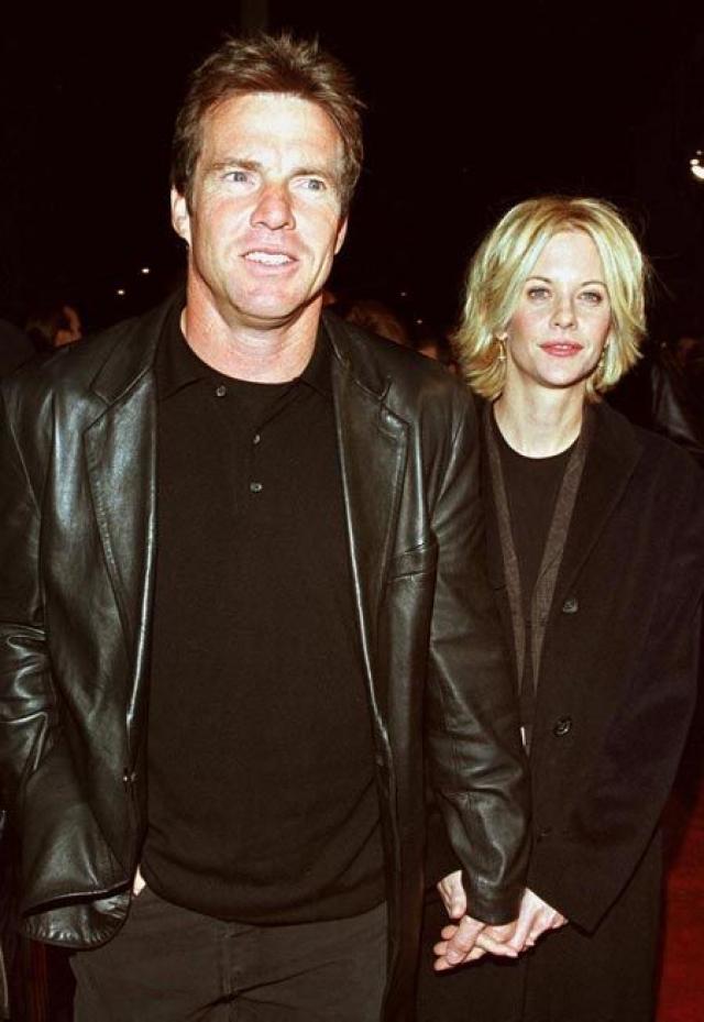 Их брак длился до 2000 года, когда Райан не попала в похожую ситуацию и не увлеклась новым коллегой по фильму - Расселом Кроу.