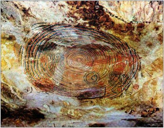 Наскальный рисунок, Штат Невада, США.