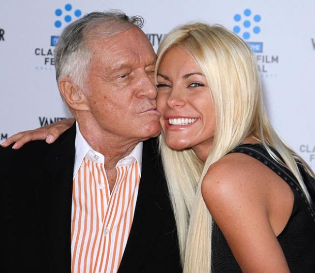 В 2012 году основатель Playboy женится в третий раз.