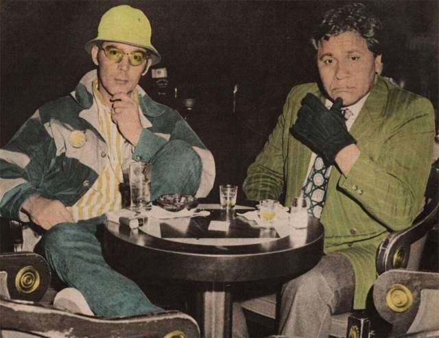 """Оскар Зета Акоста. 8.04.1935-1974. Юрист из США, писатель и активист. Он родился в Мексике и был известен своей дружбой с Хантером Стоктоном Томпсоном, на страницах """"Страха и отвращения в Лас-Вегасе"""" описавшего Акосту как своего адвоката, доктора Гонзо."""