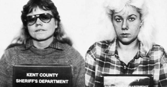 """Гвендолин Грэм и Кэтрин Мей Вуд. Эти две женщины работали санитарками в частном санатории для престарелых в Гранд-Рапидс, штат Мичиган, и сразу же стали парой, причем парой """"с изюминкой"""": им нравилось душить друг друга во время секса, но вскоре это им наскучило."""