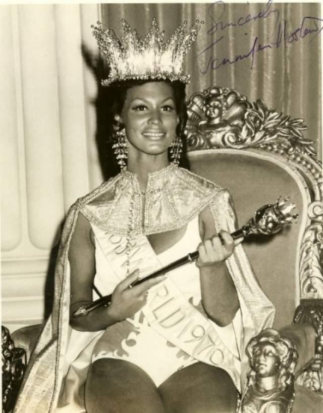 Дженнифер Хостен (Гренада) - Мисс мира 1970.