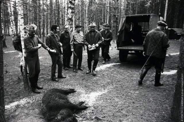1973 год, американский госсекретарь Генри Киссинджер поехал на охоту вместе с Леонидом Брежневым.