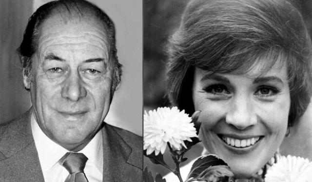 """1965 - Рекс Харрисон (""""Моя прекрасная леди"""")/Джули Эндрюс (""""Мэри Поппинс"""")"""
