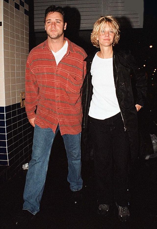Мэг и Рассел практически с начала съемок закрутили роман, после чего актриса ушла от Куэйда, с которым развелась через год.