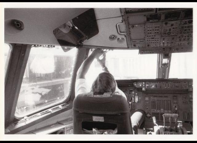 Озеро Мичиган, 1981. Капитан Шульц летел на небольшом пассажирском самолете над озером Мичиган и внезапно обнаружил справа по борту округлый серебристый объект.
