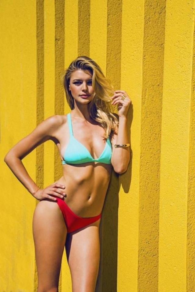 1. Юная немецкая модель 24-летняя Келли Рорбах - последнее увлечение Ди Каприо.