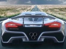 Самый быстрый в мире гиперкар показали на видео