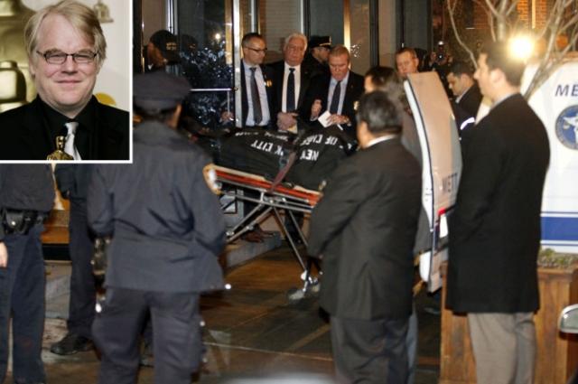 Тело актера было обнаружено сценаристом Дэвидом Бар Кацем и Изабеллой Уинг-Дэйви, личным ассистентом Хоффмана, в 11:15 утра в ванной с подкожной иглой в руке.