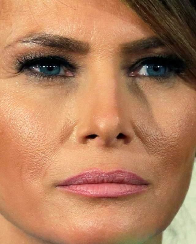 Первая леди США Мелания Трамп .