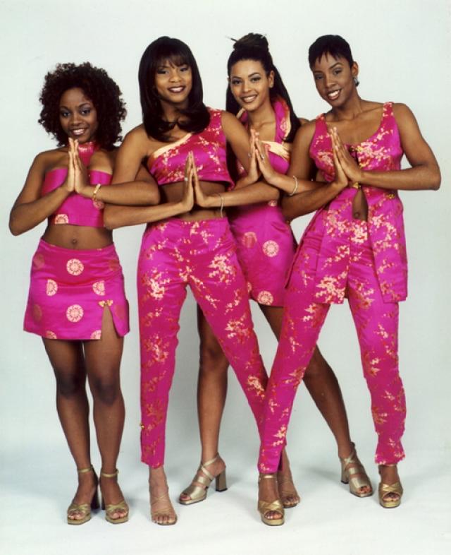 Бейонсе времен участия в группе Destiny's Child.