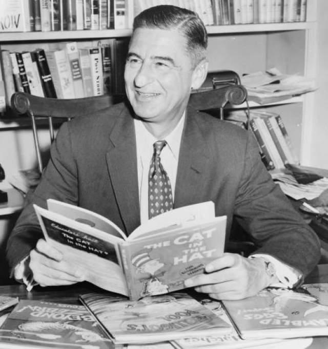 Доктор Сюсс Первую книгу Доктора Сюсса отклонили 27 издательств. Сегодня он самый популярный автор детских книг.