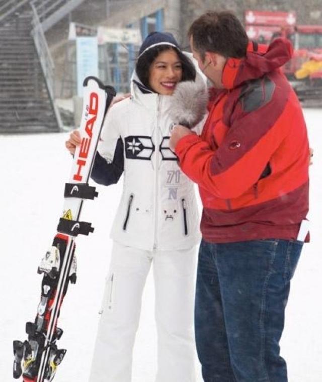 Позже она и вовсе приняла участие в сочинской Олимпиаде, представив сборную Таиланда в гигантском слаломе.
