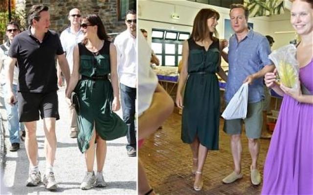 Критика пошла Кэмерону на пользу: он сменил обувь и даже пересмотрел длину шорт.