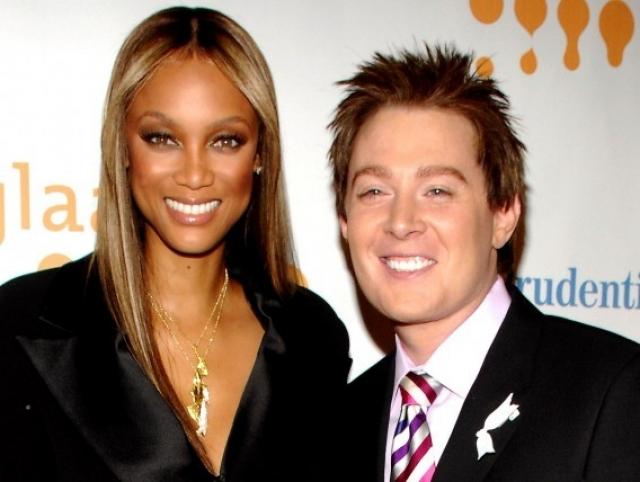 Тайра Бэнкс и Клэй Эйкен. Модель и певец, как кажется, не имеют ничего общего, но об их нежнейшей дружбе известно на весь Голливуд.