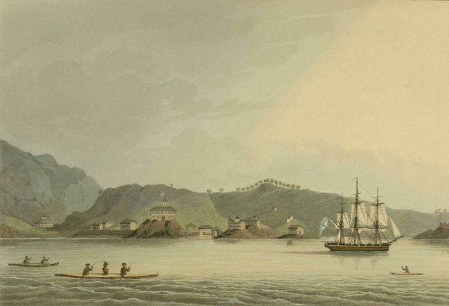 Русские на Аляске продолжали строить поселения, церкви, школы, библиотеки, музеи, верфи и больницы для местных жителей, спустил на воду русские корабли.
