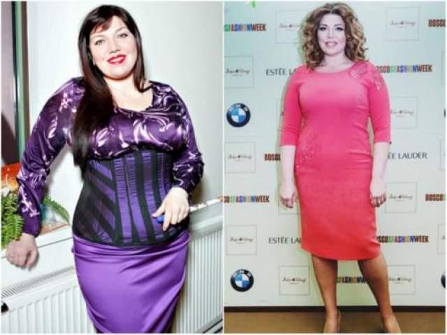 Екатерина Скулкина, сбросила 15 кг