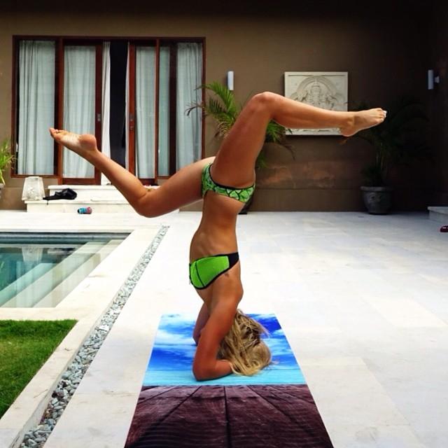 Ashley Freeman (@ashleymfreeman) из Австралии называет себя фитнес-энтузиастом.