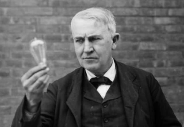 Томас Эдисон Учителя Эдисона говорили ему, что он слишком туп, чтобы чему-то научиться. Кроме того, ему пришлось создать 1000 электрических лампочек, прежде чем получить рабочий вариант.