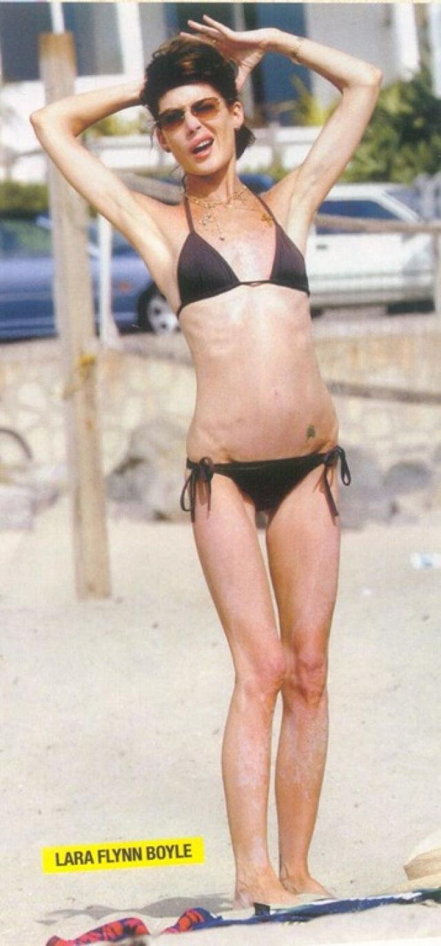 Лару обвиняли в пропаганде анорексии, но сама актриса нисколько не страдает от подобных заявлений.