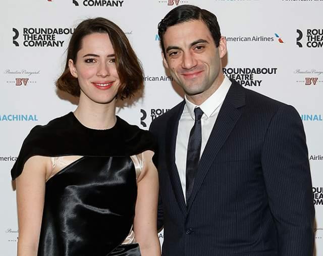 """Ребекка Холл. Британская актриса познакомилась с будущим мужем Морганом Спектором во время работы над бродвейской пьесой Софи Трэдвел """"Механический""""."""
