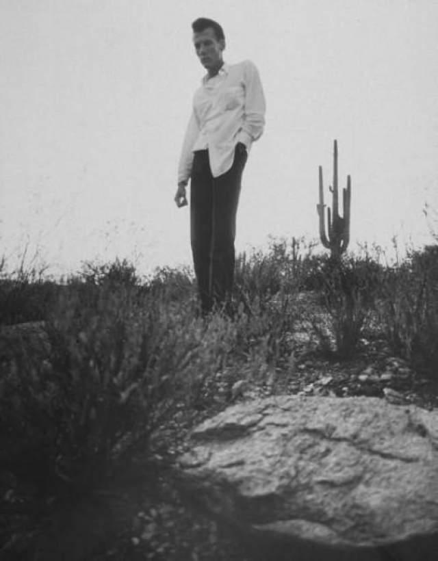Однажды Шмид показал места захоронения другу, который и обратился в полицию. На фото: Ричард Брунс, который привел полицию на место, где Шмид похоронили тела сестер Фриц