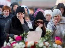 В России объявили национальный траур по погибшим при пожаре в Кемерово