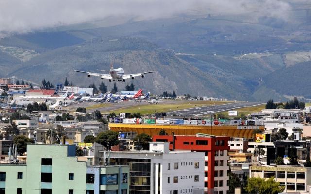 Аэропорт в столице Эквадора - Киото.