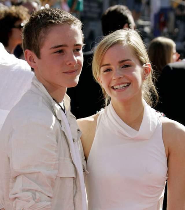 Алекс и Эмма Уотсоны. Несмотря на разнополость, эти двое похожи настолько, что их даже считают двойняшками.