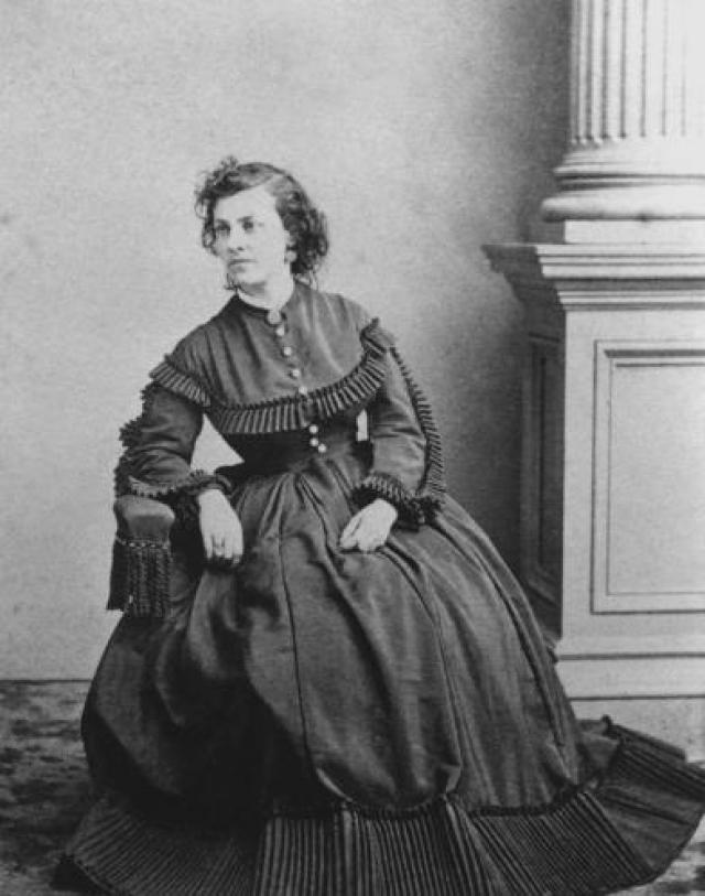 Американская актриса во время войны Севера и Юга также не смогла остаться безучастной.