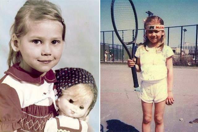 Анна начала свою карьеру как теннисистка в раннем возрасте: ее мать Алла является тренером, поэтому уже в пять лет Курникова пошла на корт.
