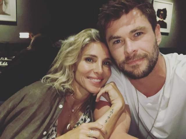 """По словам звезды """"Тора"""", в свою супругу он влюбился с первого взгляда: """"Мы встречались всего месяц, а я уже знал, что Эльза — моя судьба и любовь всей жизни""""."""