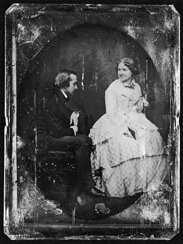 В 1852 году Дженни вышла замуж за пианиста Отто Гольшмидта. Она познакомила Андерсена со своим супругом, тот одарил молодожёнов поздравлениями и комплиментами, после чего избегал любых встреч с возлюбленной.