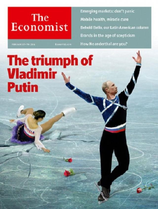 А английский журнал The Economist последовал примеру.