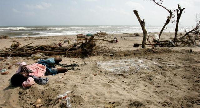 Цунами накрыло почти десятую часть побережья Индии. Больше всего досталось штату Тамил-Наду на юго-востоке страны. Его прибрежные районы - это сотни рыбацких деревень. Глиняные хижины с соломенными крышами стоят в нескольких метрах от воды. Здесь же и самый населенный город из тех, до которых в тот день докатилось цунами - четырехмиллионный Мадрас.