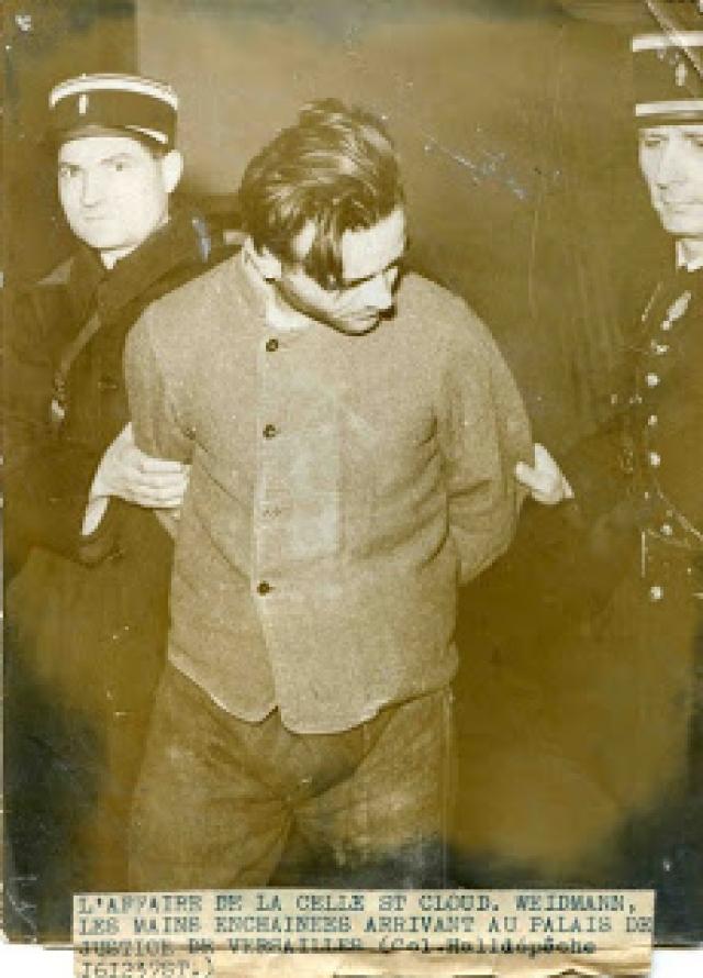 Тем временем, Вейдман совершил новое убийство. 1 сентября 1937 года он нанял шофера по имени Жозеф Коффи отвезти его во Французскую Ривьеру, но в лесу за пределами Тура выстрелил тому в затылок. Добычей стали 2500 франков.