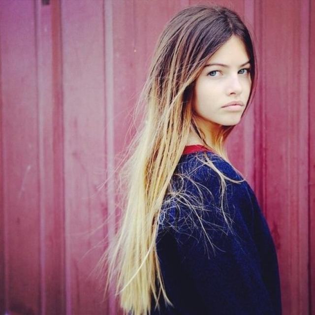 Сегодня Тилан уже 14 лет и она считается одной из самых высокооплачиваемых моделей в мире.