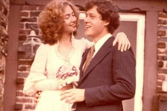 Свадьба Билла и Хиллари