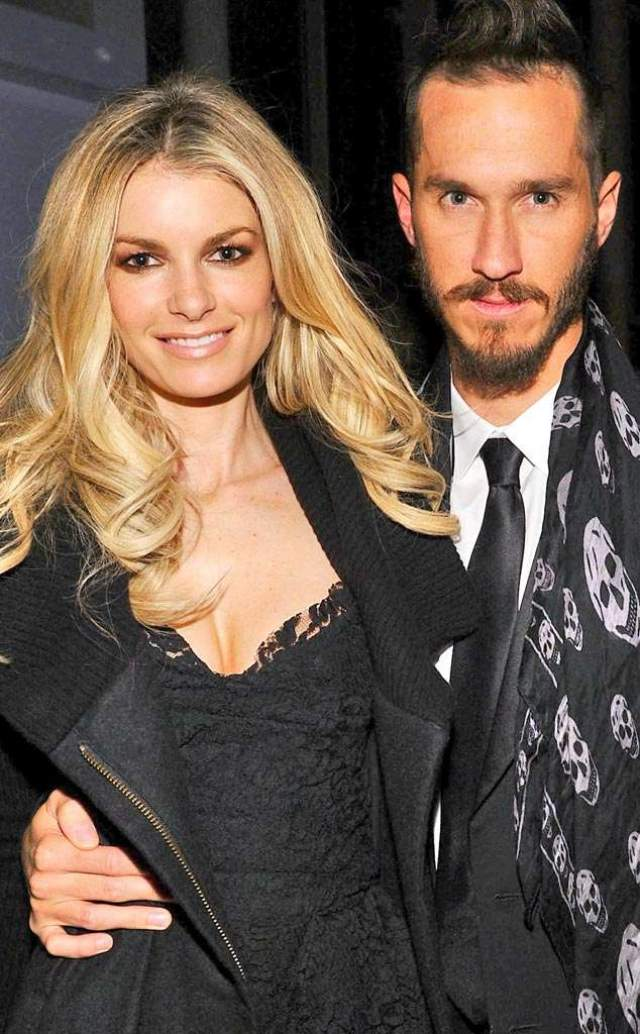 Мариса Миллер и Гриффин Гесс. Модель вышла замуж за продюсера в 2006 году.