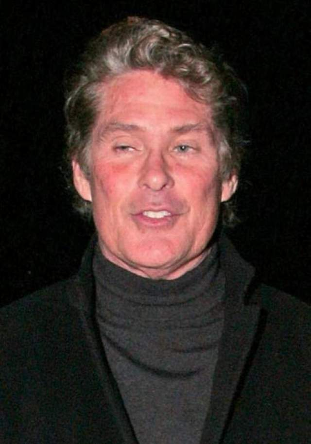 Актер признал свою алкогольную зависимость, начавшуюся еще в 1970-ых. Хассельхоффа не раз госпитализировали из-за алкогольного опьянения.