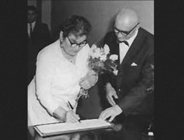 Мария Милляр и Георгий Милляр. В 1969 году, в возрасте 65 лет, после смерти матери, актер по совету режиссера Александра Роу женился на своей 59-летней соседке по квартире Марье Васильевне, работавшей в охране одного из министерств. Как ни странно брак оказался счастливым.
