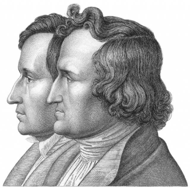 Братья Гримм исследовали немецкую народную культуру, собирали фольклор, а также были лингвистами, правоведами, научными деятелями, а в конце жизни они занялись созданием первого словаря немецкого языка