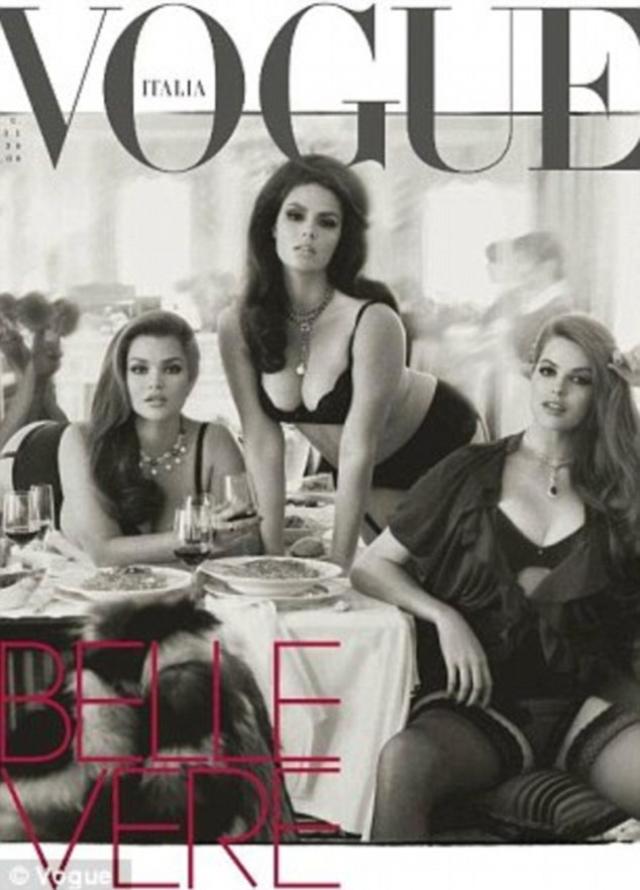 Затем Кэндис вместе с Тарой Линн и Робин Лавли появилась на революционной обложке итальянского Vogue в 2011 году – тогда впервые за долгое время на обложке глянцевого журнала появились модели с 48-м размером.