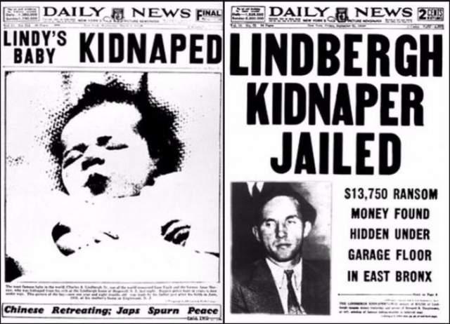 Пришедшая в 22.00 медсестра поднялась наверх, чтобы проверить здоровье малыша. И тут же прибежала обратно, сообщив Линдбергам, что их мальчик исчез.