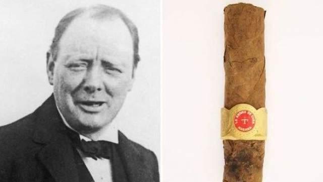 От гаванской La Corona длиной 152 миллиметра остался кусок равный 101 миллиметру и красно-золотистая этикетка с названием знаменитой марки.