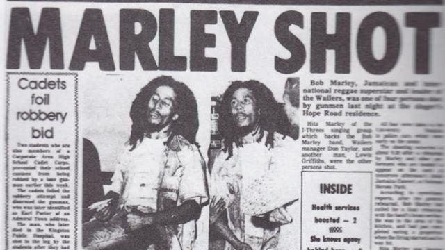 В декабре 1976 года на него, поневоле оказавшегося втянутым в местную политику, было совершено покушение. В собственном доме Боба Марли, его жену и его менеджера Дона Тейлора обстреляли неизвестные.