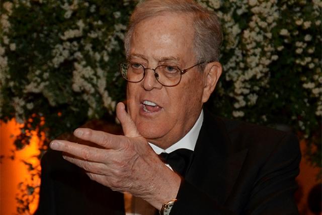 Американский миллиардер Дэвид Кох , скептически относящийся к проблеме глобального потепления, потратил несколько миллионов долларов на то, чтобы развенчать этот, по его мнению, миф.