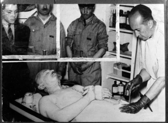 21 августа 1940 года в 7:25 Троцкий умер.